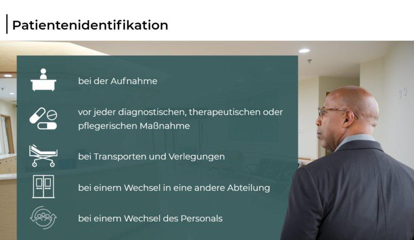 Patientensicherheit im Krankenhaus - Patientenidentifikation
